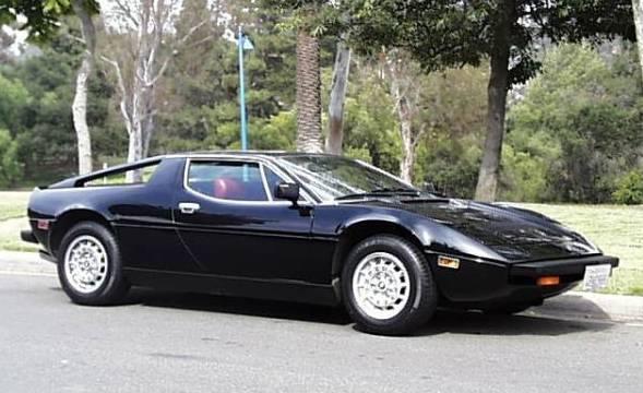 Maserati Merak, fez parte da renovação da marca italiana pela Citroën.