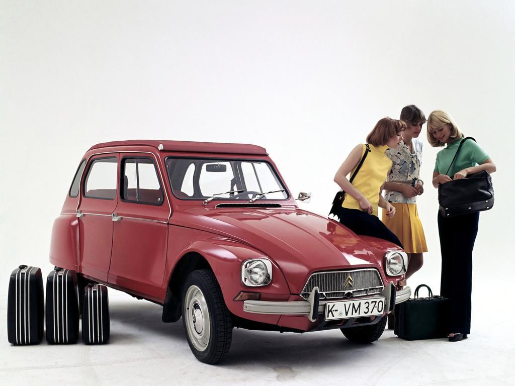 O Citroën Dyane é um dos legados da Panhard, foi desenhado por Louis Bionier o designer da marca.