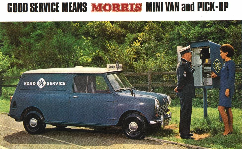 Mini Van, modelo comercial destinado a comerciantes e serviços.