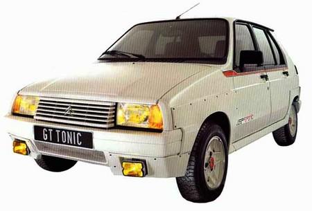 O Visa GT Tonic serviu de base para a versão GT bicampeão