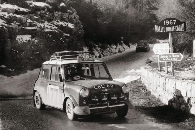 Mini Cooper S no Rali de Monte Carlo
