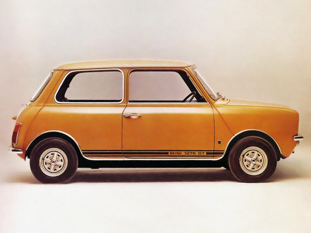 O Mini 1275 GT veio em 1969 substituir o Mini Cooper apesar de menos potente