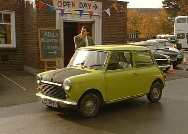 O famoso Mini de Mr. Bean