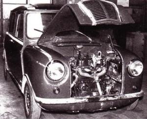 """Um dos primeiros protótipos XC9003 com a grelha frontal """"so British"""""""