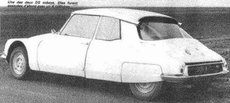 Primeiros estudos de um coupé DS antes do projecto enveredar para o modelo GT definitivo
