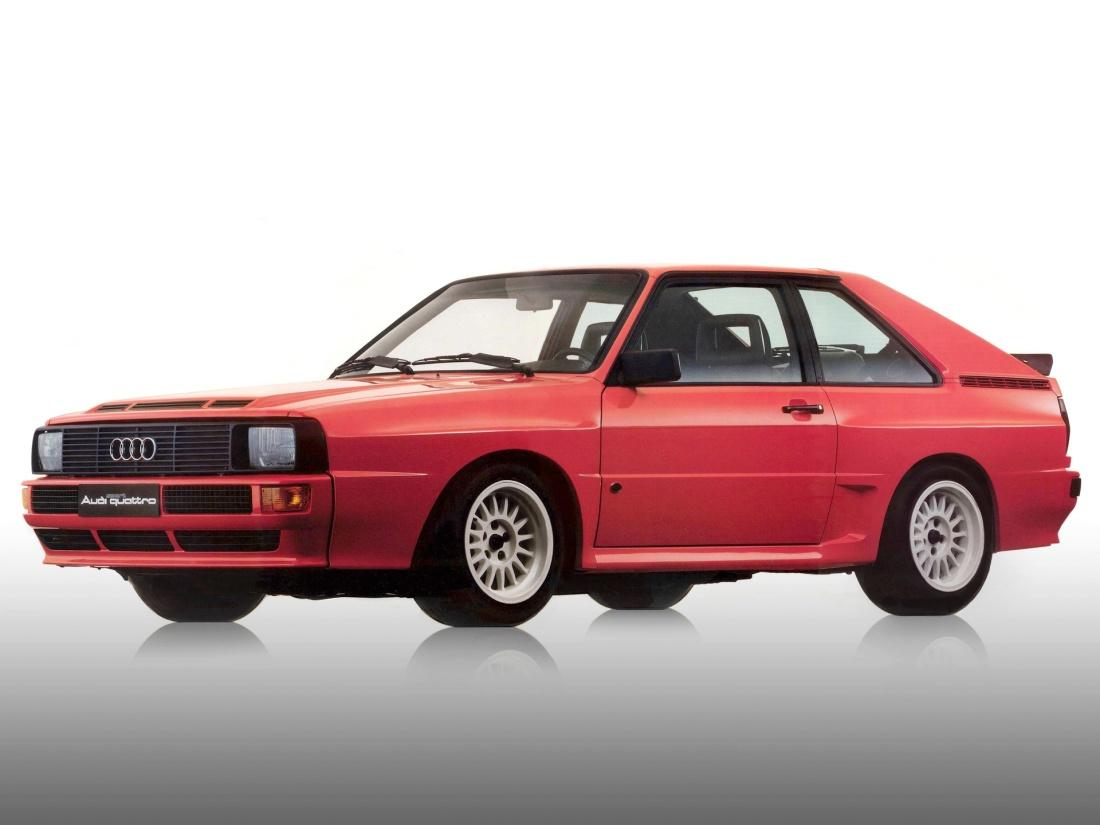 Audi Sport Quattro, versão civil para homologação do modelo de competição.