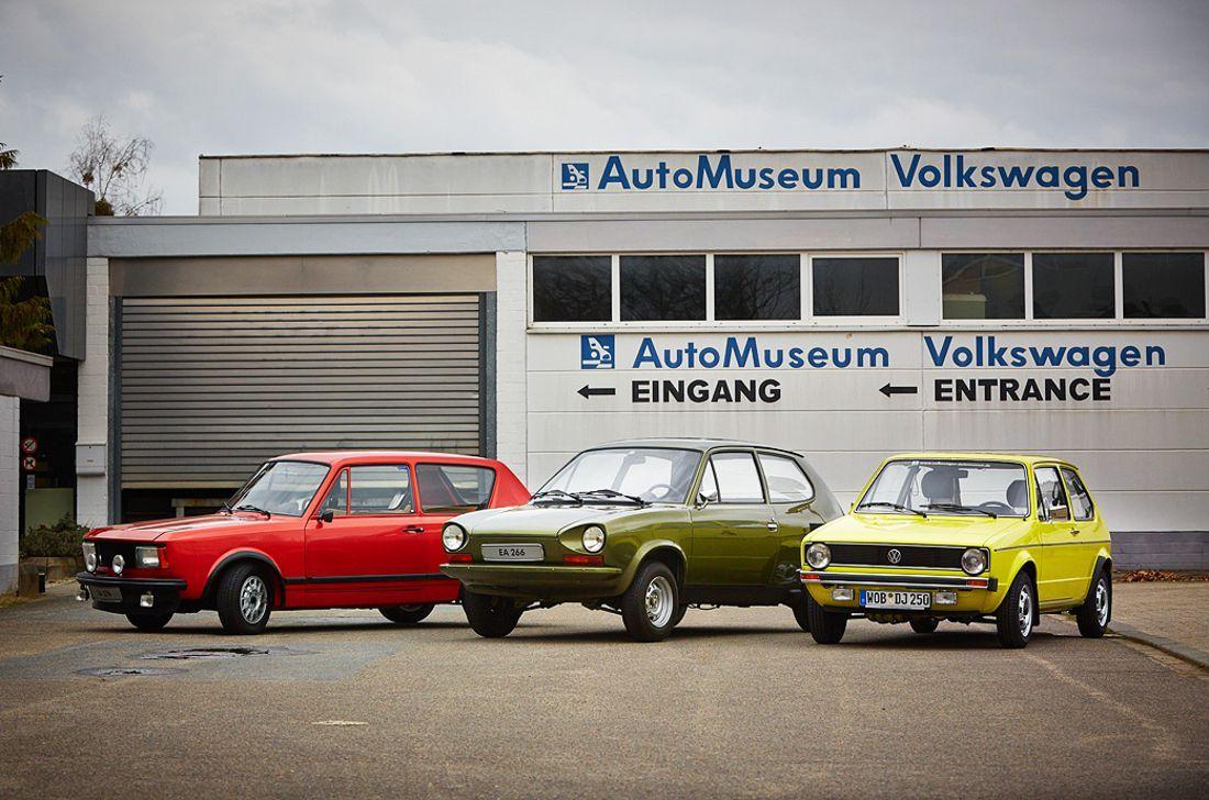 Volkswagen EA 276, EA 266, Golf mk I.