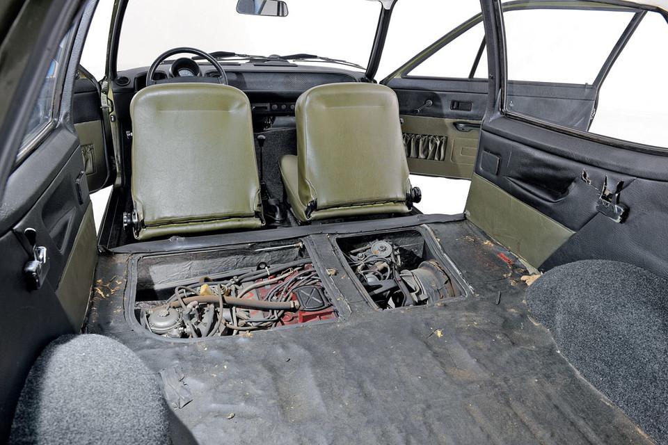 A posição do motor do EA 266 dificultava o seu acesso para operações de manutenção.