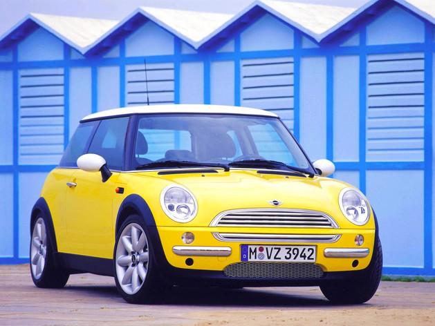 Mini Cooper 2001.