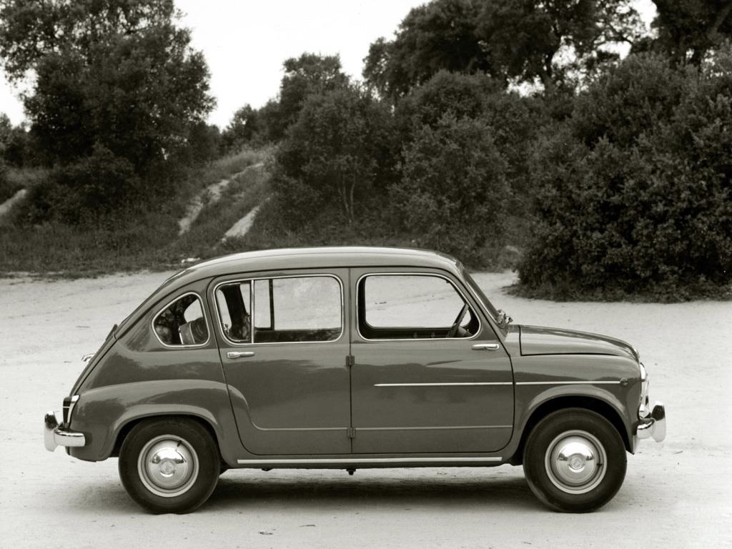 O SEAT 800 foi o primeiro modelo concebido pelos espanhóis para o seu mercado interno.
