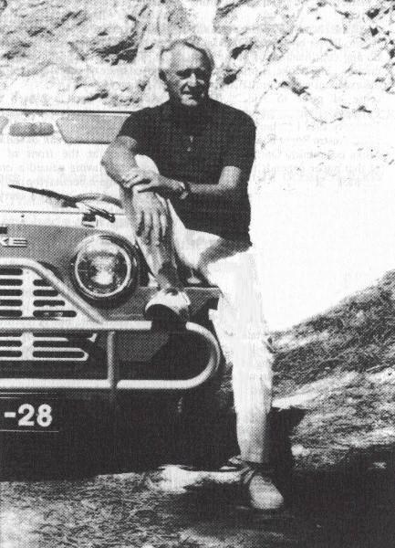 Jim Lambert, conhecido como o pai do Mini Moke made in Portugal