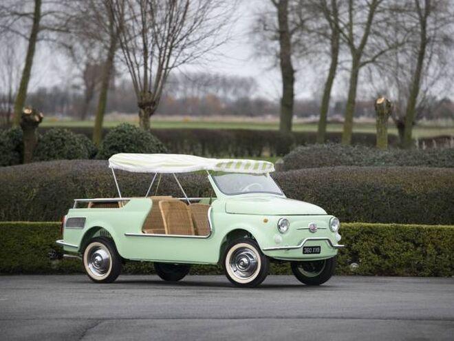 O Fiat 500 Giardiniera também serviu de base para o Fiat Jolly.