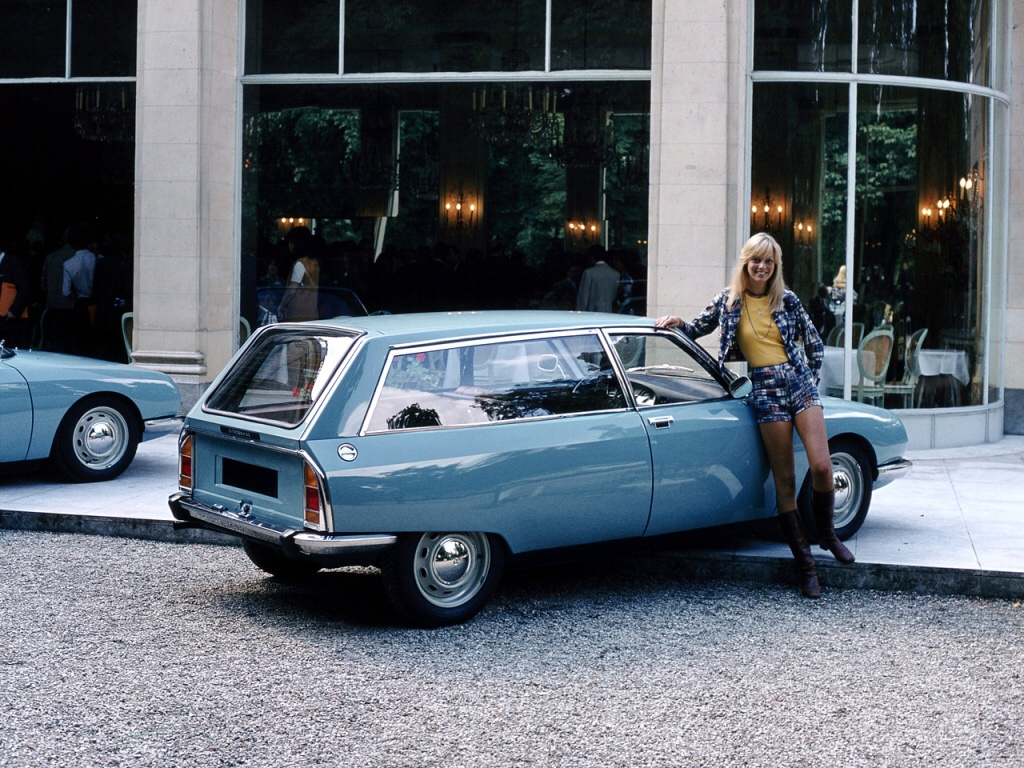 Citroën GS service - a elegante versão comercial do GS.