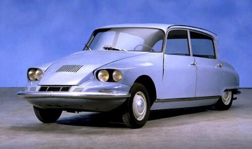 O atípico Citroën C60 desenhado por Flaminio Bertoni.