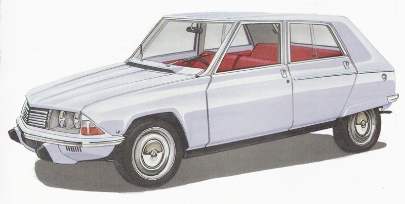 O projeto F já estava praticamente pronto para a produção quando a Citroën desistiu do seu lançamento